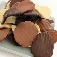 Chocolate Dip Delights™ Belgian Chocolate Covered Potato Chips