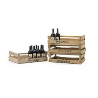 Wooden Provence Crate