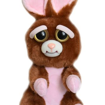 "Feisty Pets Vicky Vicious 9"" Plush Stuffed Bunny"