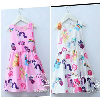 PRE-ORDER - MY LITTLE PONY DRESS- CLOSES 03/06
