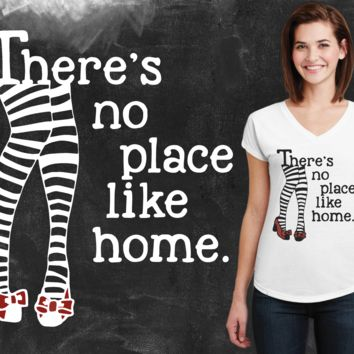 There's No Place Like Home Wizard of Oz Graphic T-shirt