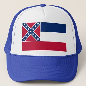 Hat with Flag of Mississippi State - USA