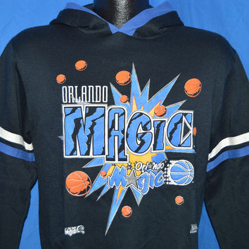 90s Orlando Magic Hooded Sweatshirt Youth Large