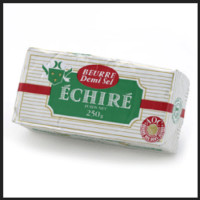 Gourmet food online - French Echire Butter Salted - Buy butter online