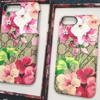 GUCCI iPhone Phone Cover Case For iphone 6 6s 6splus 7 7plus  8 8plus hard shell G