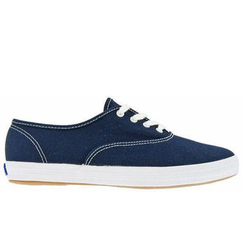 Keds Champion   Navy Low Top Canvas Sneaker