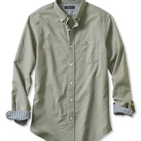 Banana Republic Mens Slim Fit Solid Oxford Shirt
