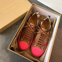 Burberry Lattice Series Fashion casual shoes