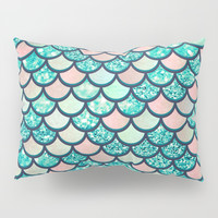 Mermaid Dream Pillow Sham by Printapix