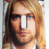 Light Switch Cover - Light Switch Plate  Kurt Cobain Nirvana Rolling Stone
