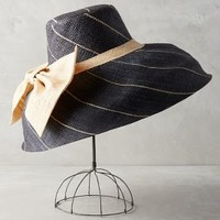 Midships Sun Hat by Anthropologie in Navy Size: One Size Hats