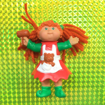 1994 Cabbage Patch Kids Figurine Doll! Kimberly Katherine! CPK! Rare! Clean Figure! Vintage Toy Retro Great Gift