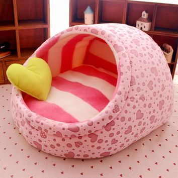 2017 New Cute Slipper Design Pet Dog Princess Bed Nest Washable Small Dogs Warm House Kennel 11 Colors Free shipping