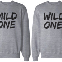 Mild and Wild BFF Sweatshirts