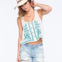 O'neill Julia Womens Cami Ivory  In Sizes