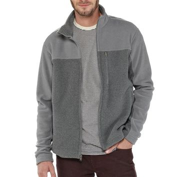 Patagonia Men's Simple Synchilla® Fleece Jacket | Nickel