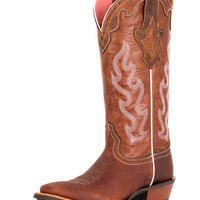 Ariat Women's Crossfire Caliente Boot - Weathered Brown