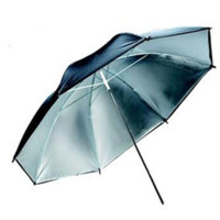 Black/Silver 33 Inch Photography Umbrella - LCSCU33S - LAST CALL