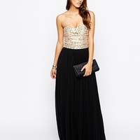 Rare Lace Bust Maxi Dress