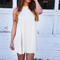 Shine On Gold Shimmer Dress