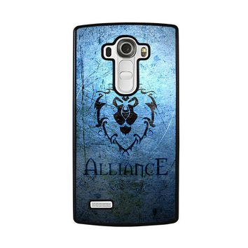 world of warcraft alliance wow lg g4 case cover  number 1