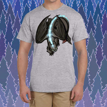 How to train your dragon  toothless design for tshirt