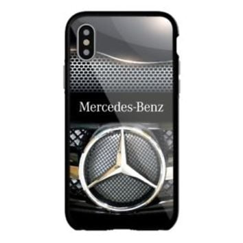 Mercedes Silver Steel Special iPhone Samsung 5 5s 6 6s 7 8 X Plus Edge Hard Case