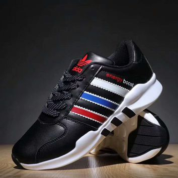 Adidas NEO Boost Trending Women Men Running Sport Casual Shoes Sneakers Black G-XYXY-FTQ