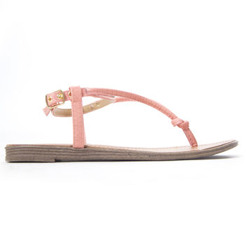 Mile In My Sandals In Coral