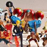 Anime One Piece 1Set 1Set=9pcs 3.1''-4.7'' Figures Dolls Toys 2 Years Later Large Doll Model = 1958165956