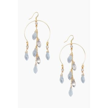 Luxe Earrings - Gray/Smoke