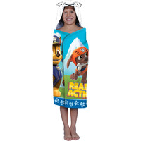 Kids, Toddlers, Large Hooded Beach Towel Wrap