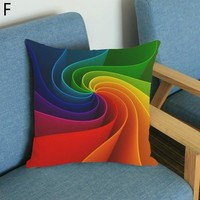 Colorful and Design-friendly Rainbow Pillow Cases
