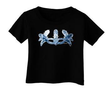 Water Masquerade Mask Infant T-Shirt Dark by TooLoud