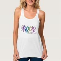 Rainbow Rockstar Awesome Musician T-Shirt