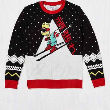 Junk Food Bart Ski Sweater
