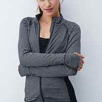 Striped Athletic Jacket