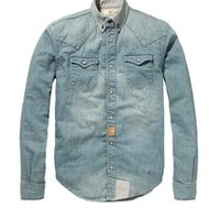 Button Down Denim Shirt - Scotch & Soda