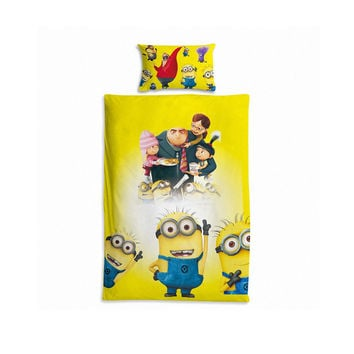 Bedroom Hot Sale On Sale Home Hot Deal Comfortable Minions Children Cushion Quilt Case [6344190854]