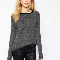 Vero Moda Light Weight Zip Front Sweater