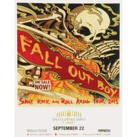 Fall Out Boy - Concert Promo Poster