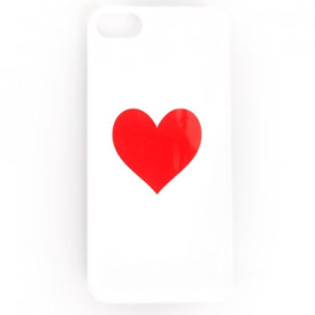 iPhone 5/5s Ban.do Heart Case - Red/White