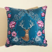 Wanting a Definitive Antler Pillow | Mod Retro Vintage Decor Accessories | ModCloth.com