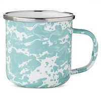 Coffee Mug 12oz Stainless Steel Light Blue - Threshold™