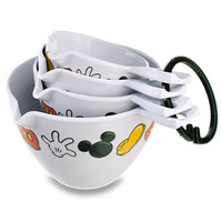 Disney Best of Mickey Mouse Measuring Cup Set -- 4-Pc. | Disney Store