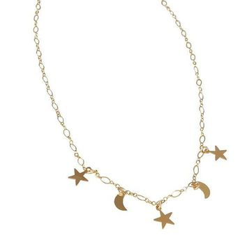 Celestial Collar Necklace