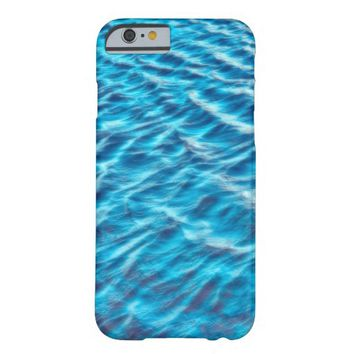 blue water photo art phone case barely there iPhone 6 case