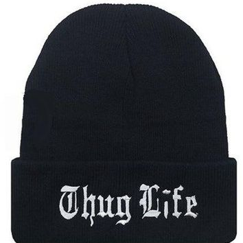 Europe and The United States Style Men and Women's 14 Letter Embroidery Knitted Wool Acrylic Cap Hip-Hop Beanies Hat Lth02