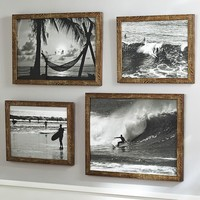 Black And White Surf Prints