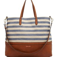 Splendid Tote - Emerald Bay Metallic Stripe | Bloomingdales's